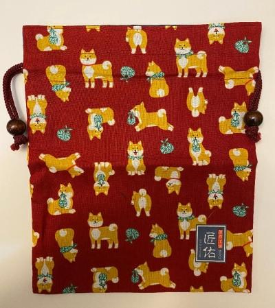 Shiba Inu Drawstring bag 2