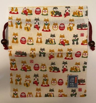 Shiba Inu Drawstring bag